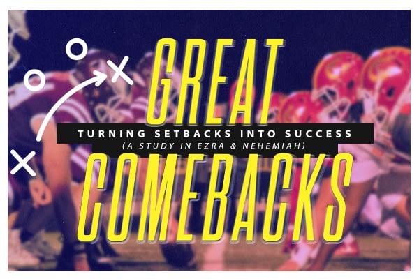 Great Comebacks: Turning Setbacks Into Success Week 2 Image