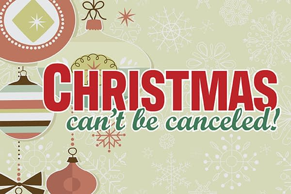 Christmas Can't Be Canceled - PEACE Image